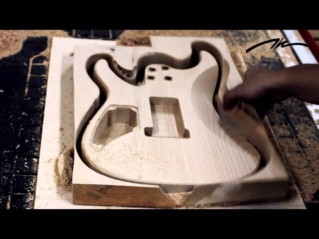 Thanakorn guitars Factory tour