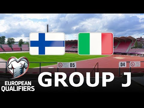 Finland vs Italy - European Qualifiers - PES 2019 - YouTube