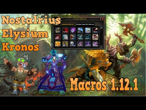 Tips & Tricks To Improve Your WoW Game. Part 1 - MACROS