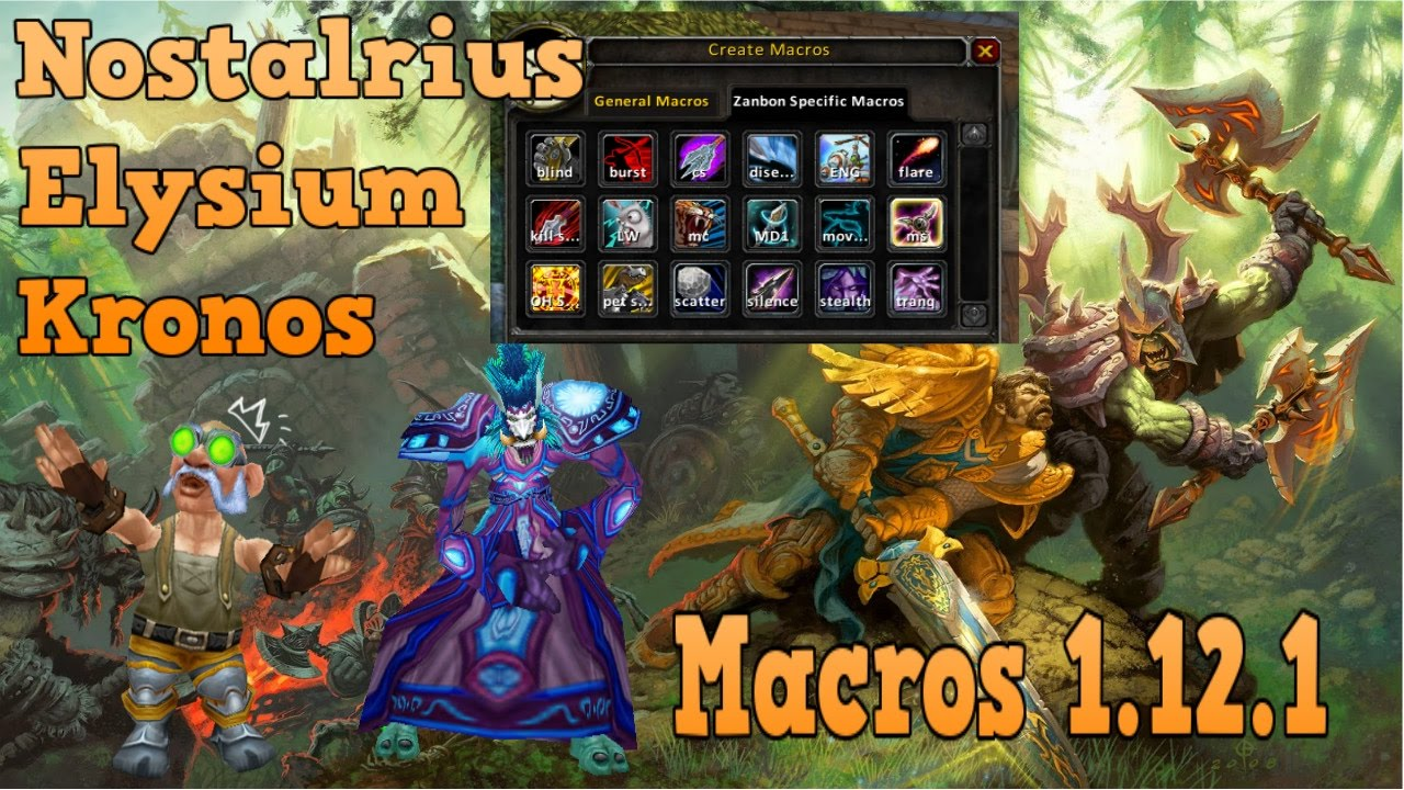 Tips & Tricks to Improve your WoW Game  Part 1 - MACROS