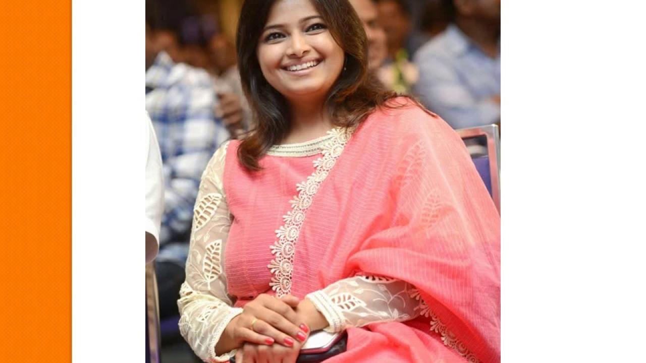 Tv anchor Jahnavi