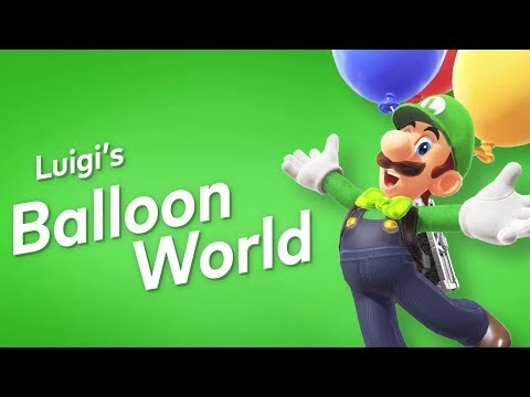 Super Mario Odyssey - Luigi DLC Trailer Nintendo Direct 2018