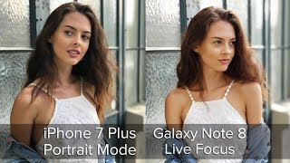 Tested: Galaxy Note 8 Live Focus vs iPhone 7 Plus Portrait Mode