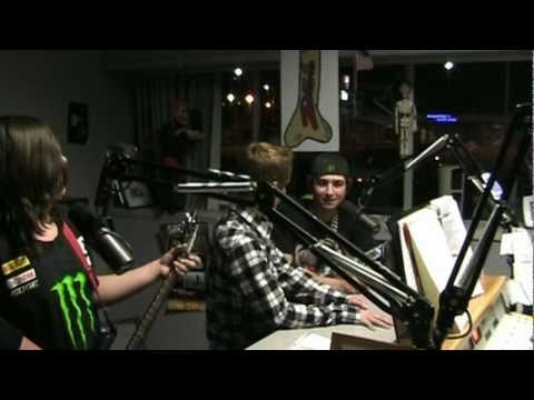 Z95 Interview by teen rock band - VonAmp - 1.8.11 - Awesome!!!