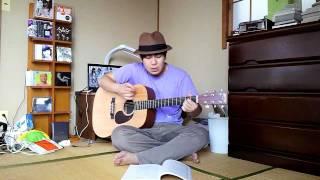 フリッパーズ・ギター「午前3時のオプ」ギター弾き語り.