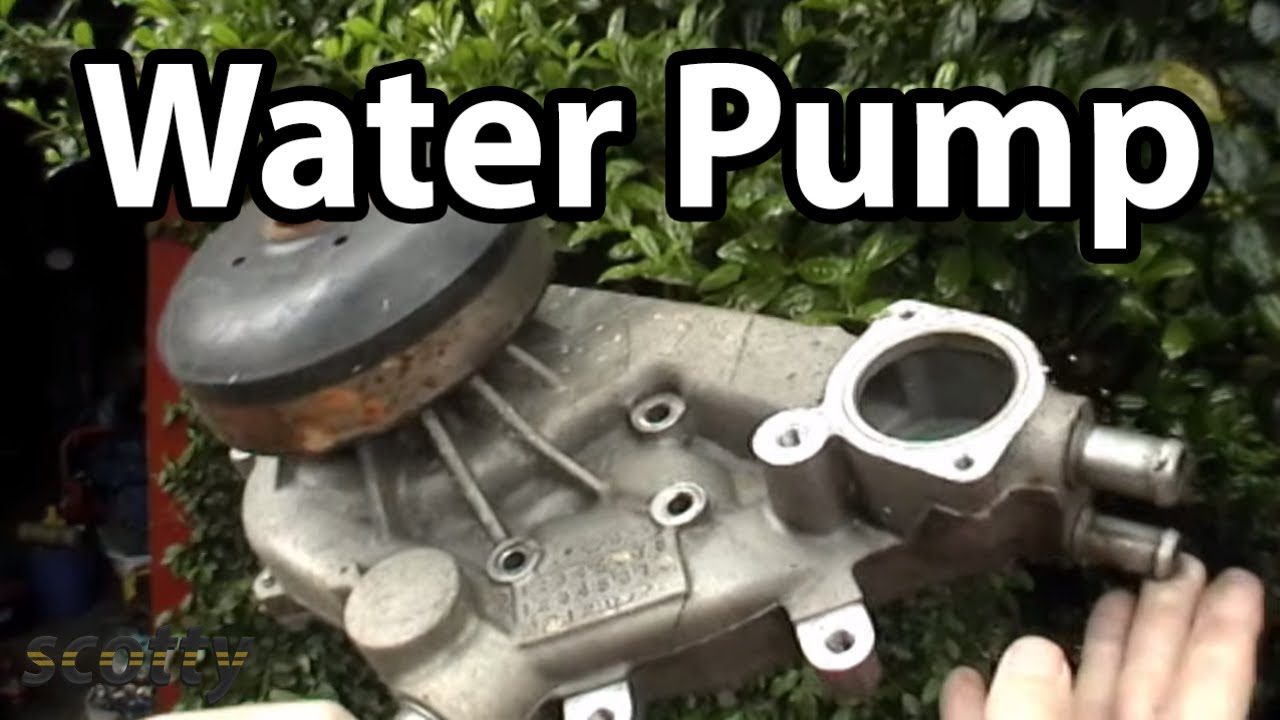 How To Replace A Water Pump Youtube 6 Pin Trailer Plug Wiring Diagram Way Diagrams