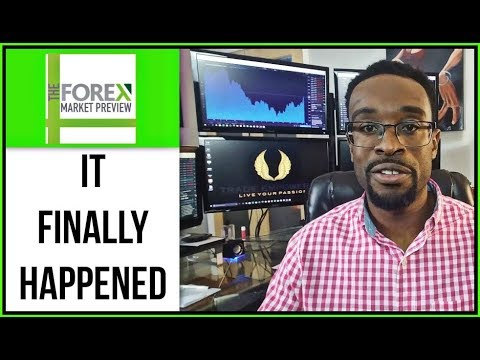 FOREX TRADING LESSON - It Finally Happened!