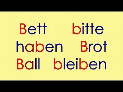 Cách đọc và phát âm tiếng Đức .