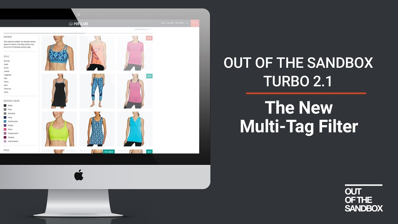 Out of the Sandbox - Turbo 2 1 Multi-Tag Filter
