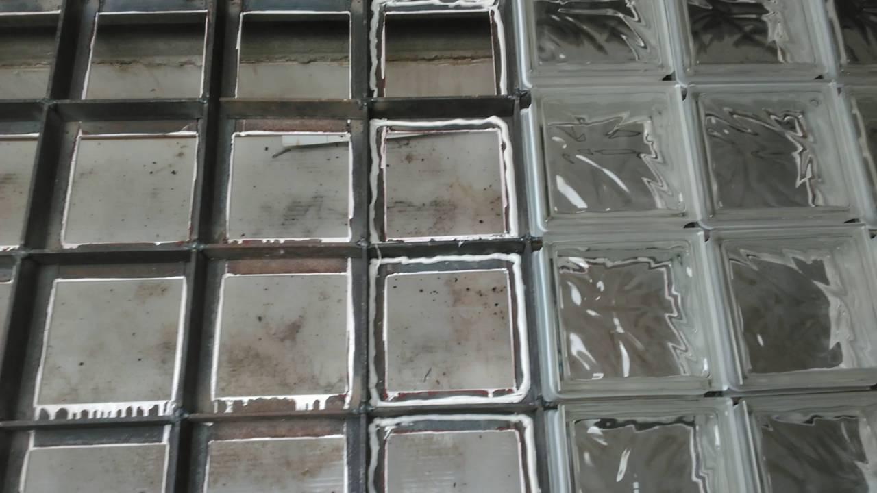 Como poner bloques de vidrio ventana para el montaje en - Como poner fibra de vidrio ...
