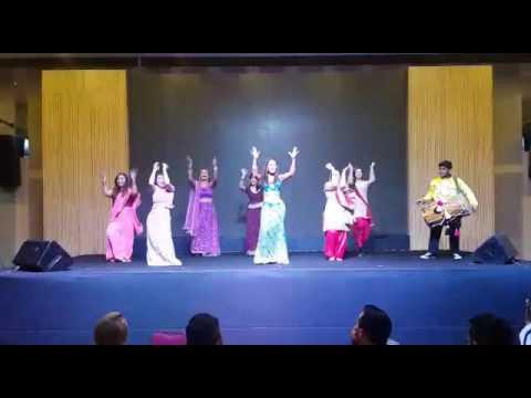 Bollywood Showcase. Asian Glam Dinner Salsation Blast Asia 2016