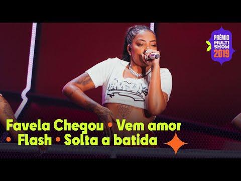 """MEDLEY Ludmilla -  """"Favela Chegou"""" """"Flash""""  """"Vem amor""""  AO VIVO no  Prêmio Multishow 2019"""