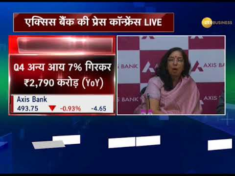 Watch: Axis Bank declares its quarterly results; swung into a loss of Rs 2,188.74 crore in Q4 FY18