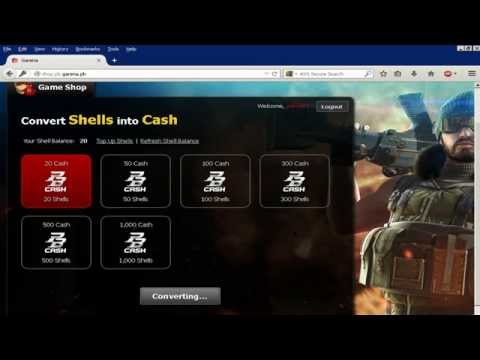 How To Load Pointblank Garena Cash Using Loadcentral (2)