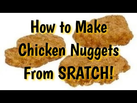 mcdonalds style chicken nugget recipe