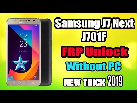 Samsung J7 Nxt FRP Unlock Without PC   Sam J701F Google