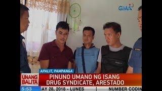 UB: Pinuno umano ng isang drug syndicate, arestado sa Pampanga