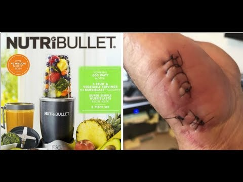 NutriBullet Owners Claim Devices 'burst;' Caused Severe Burns And Cuts
