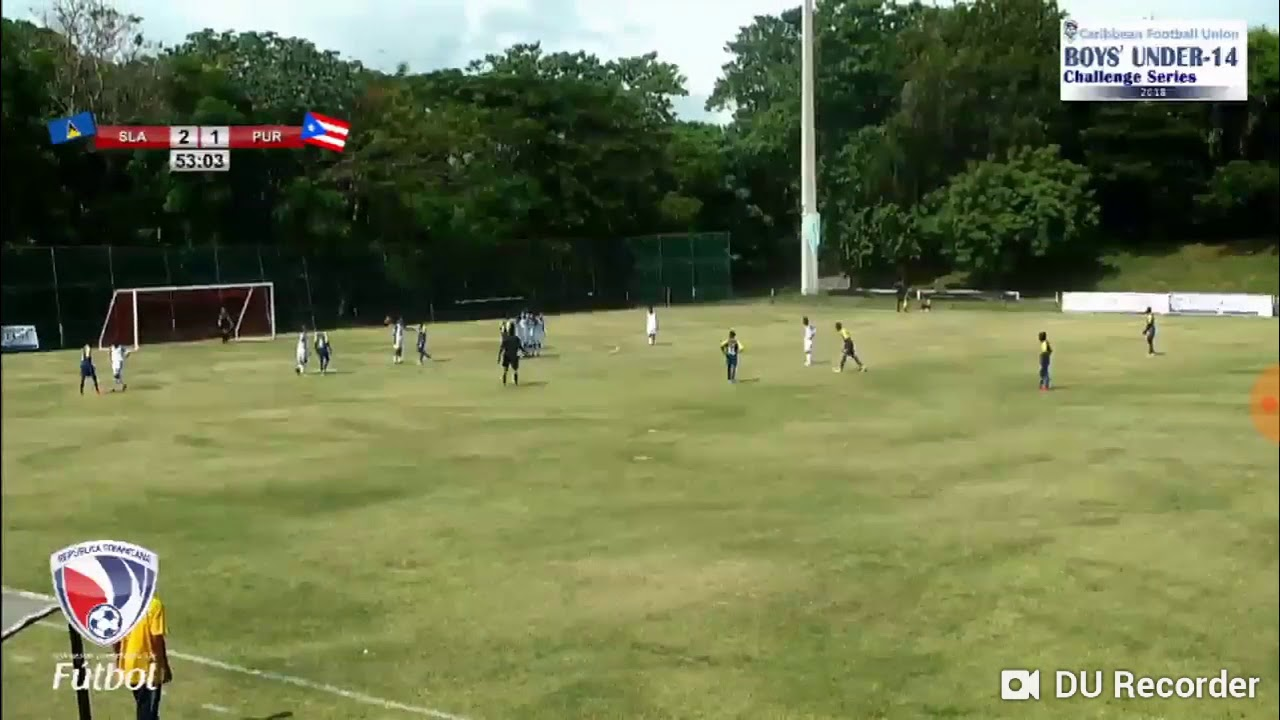 Jahlil Evans exquisite freekick against Puerto Rico