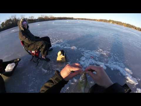Lake Independence/Lake Victoria 2 12 17 Ice Fishing - YouTube