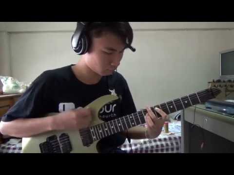 Silent Siren - Crazy Lady cover guitar