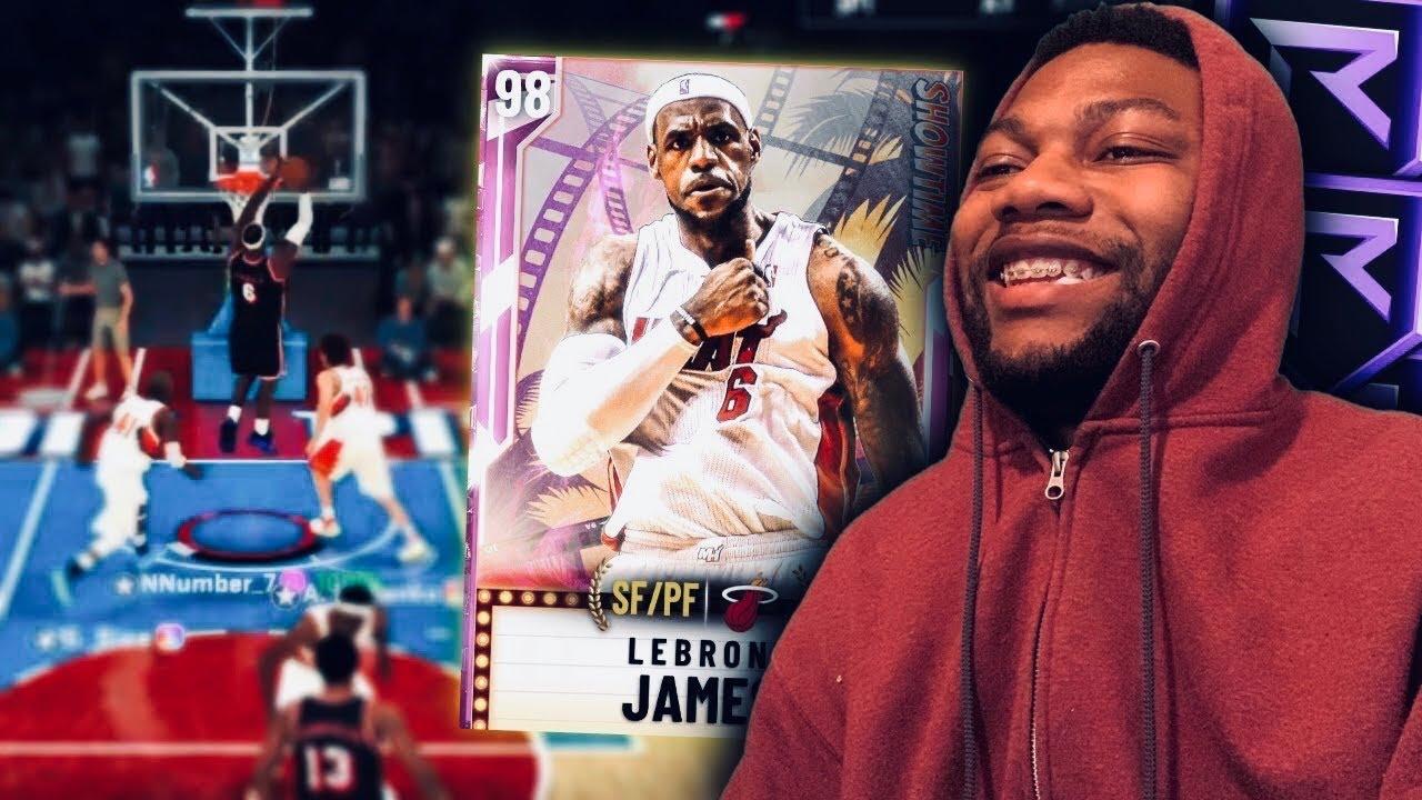 VALUE LEBRON CARD IN NBA 2K20 MYTEAM