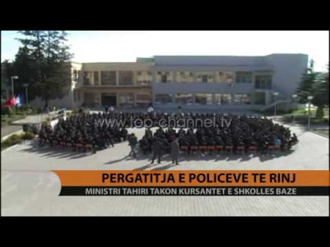 Përgatitja e policëve të rinj, Tahiri takon kursanët - Top Channel Albania - News - Lajme