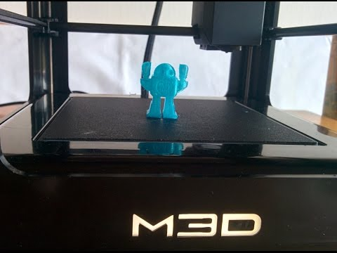 Realtime print - M3D The Micro 3D Printer Kickstarter November Tier