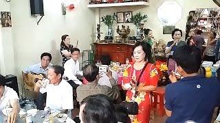 Tất niên 2016 (tại nhà NS Văn Châu) | Nguyễn Quang - Yến Thanh | Ngày xuân tái ngộ