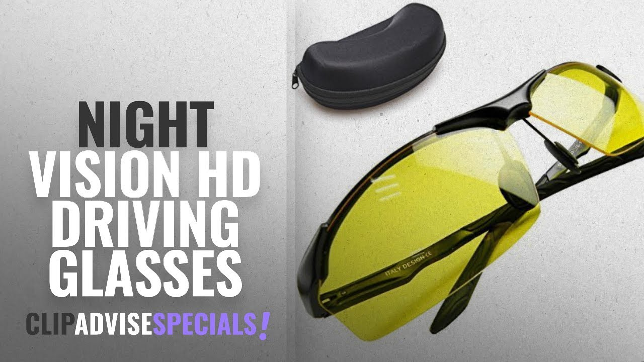 ee6c49b95a4 Top 10 Night Vision Hd Driving Glasses  2018   Night Vision Glasses ...