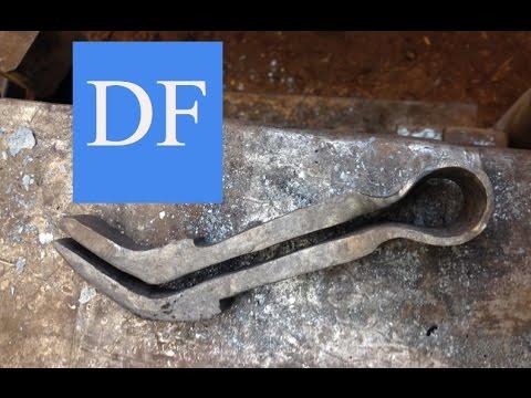 Blacksmithing Project - Forging A Filing Vise Insert