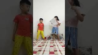 Gia đình - nhanh như chớp nhí Đan+Minh