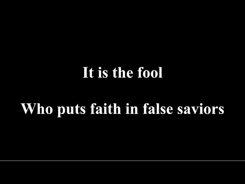 Blind Guardian - A Voice in the Dark [Lyrics]