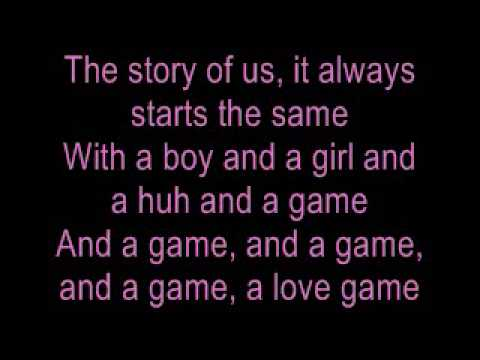 LoveGame - Lady Gaga (Lyrics)