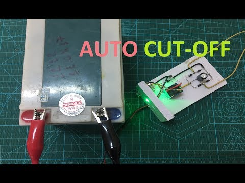 DIY Auto Cut-Off 12V Battery Charger Using Relay