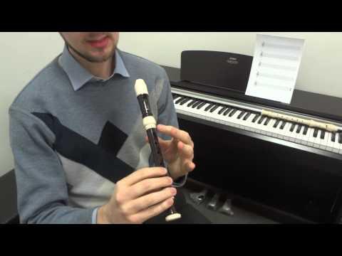 Блокфлейта уроки видео