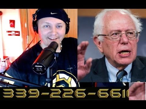 Bernie Sanders - Calls JOE CRONIN -