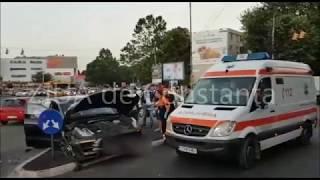 constanţa accident rutier n zona city park mall constanţa