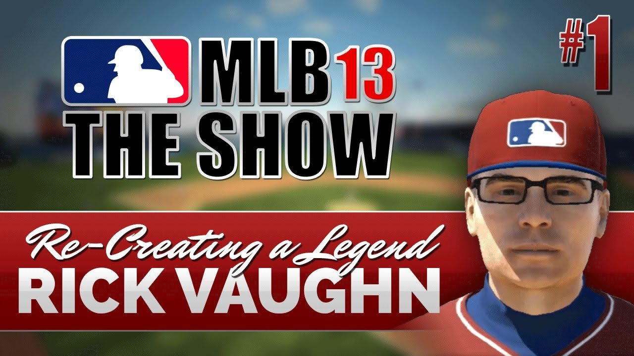 Mlb 13 The Show Road To The Show Ep 1 Rick Vaughn Youtube