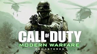 Call of Duty: Modern Warfare Remastered Alpha : Live PS4 Broadcast