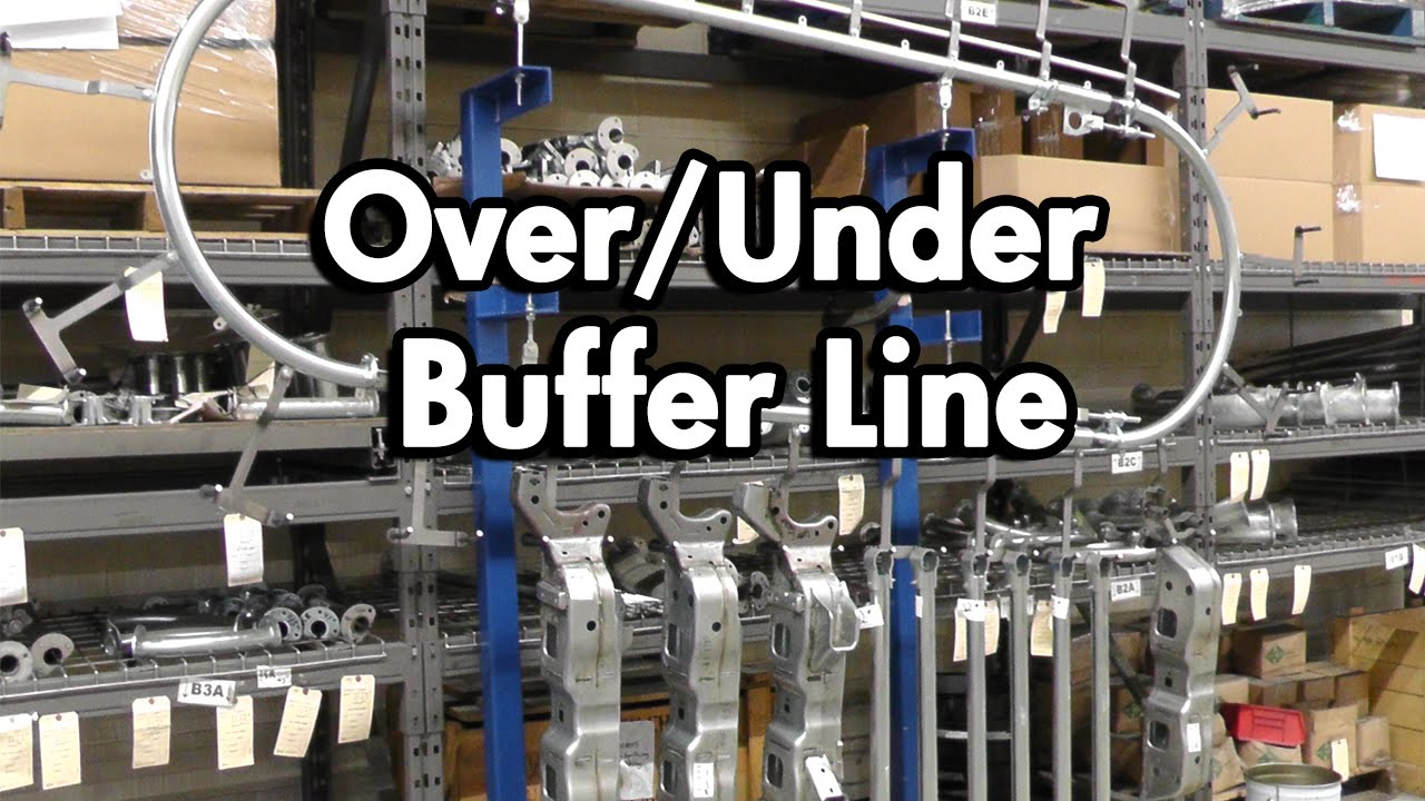 Over Under Conveyor System For Buffering Parts Youtube