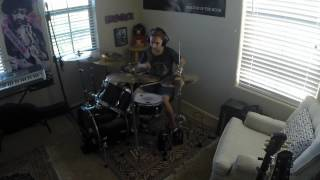 "NIRVANA ""In Bloom"" a drum cover by Emily"