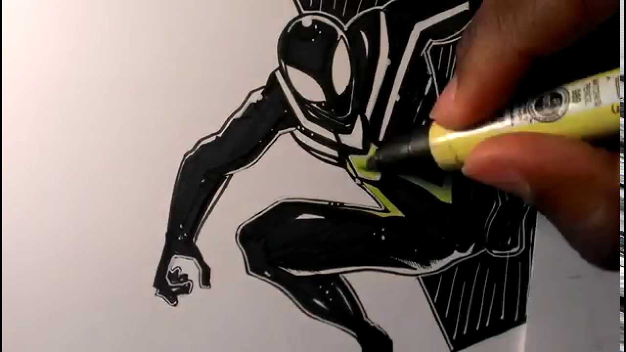 Big Time Spider Man Drawing | www.imgkid.com - The Image ...