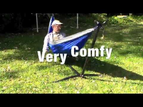 zeny space saving steel hammock stand 9 u0027 outdoor patio portable with carrying case review   youtube zeny space saving steel hammock stand 9 u0027 outdoor patio portable      rh   youtube