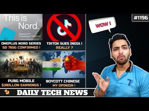 tiktok-sues-india?,oneplus-nord-sd-765g-confirmed,boycott-chinese-phones?,pubg-mobile-$3billion