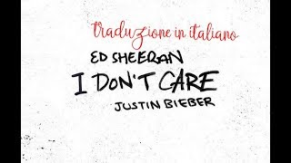 Baixar Ed Sheeran & Justin Bieber - I Don't Care TRADUZIONE ITALIANA