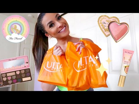 Shop With Me For NEW High End & Drugstore Makeup + ULTA Haul!♡ thumbnail