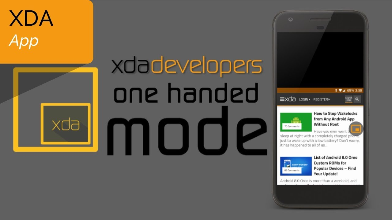 XDA's One-Handed Mode app makes it easier to use your giant smartphone