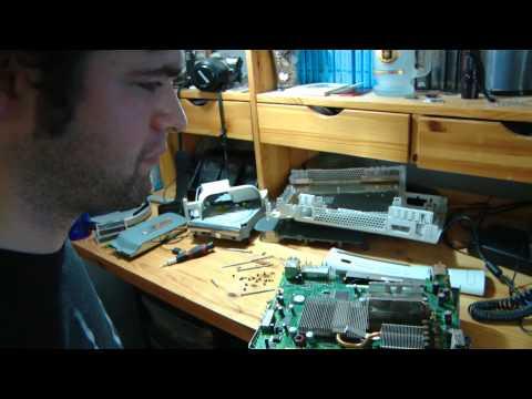 How to take apart an XBOX 360 : the Prep work B4 using Heat Gun fix