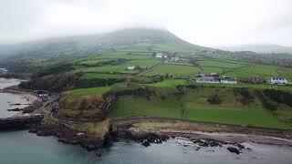Redbay Castle Ruins, Co.Antrim, N.Ireland filmed with DJI Mavic Pro